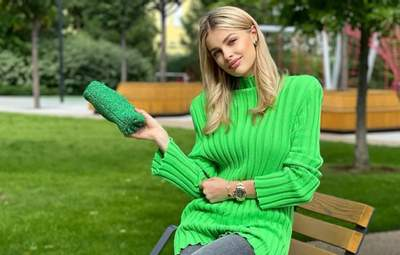 Влада Седан показала стильний осінній образ: нове фото дружини Олександра Зінченка