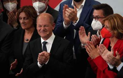 Кандидат у канцлери Шольц заговорив англійською з пресою: чому це здивувало Німеччину