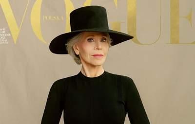 Джейн Фонда впервые за 62 года появилась на обложке Vogue: впечатляющее фото