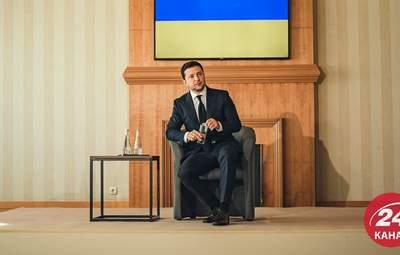 Разумков, Саакашвили и разговор с Путиным: главное из брифинга Зеленского в Трускавце