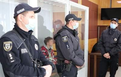 Усіх підозрюваних у вбивстві поліцейського в Чернігові відправили у СІЗО