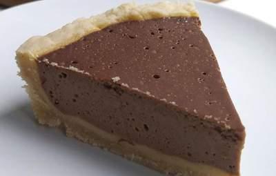Тарт с тыквенно-шоколадным суфле: идеальная осенняя выпечка к какао