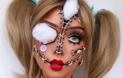 Ужасающий и волшебный одновременно: какой макияж сделать на Хэллоуин 2021 – жуткие фото