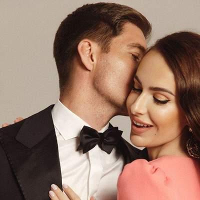 Володимир Остапчук позував у романтичній фотосесії з коханою: дивовижні фото