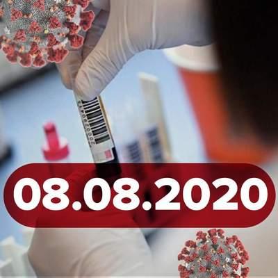 Новини про коронавірус 8 серпня: антирекорд в Україні, контроль за карантином хочуть посилити