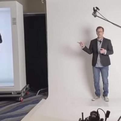 Технология PORTL создает голограммы в полный рост в реальном времени