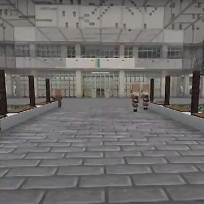 Геймер відтворив у Minecraft університет Шевченка: відео