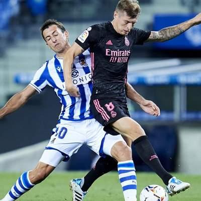 """""""Реал"""" несподівано зіграв у """"суху"""" нічию із середняком Ла Ліги: відео"""