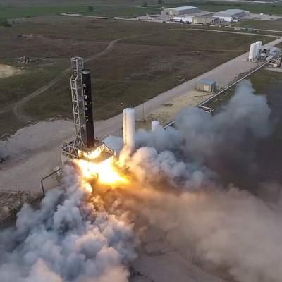 Украино-американская ракета Alpha успешно прошла предполетное испытание: видео