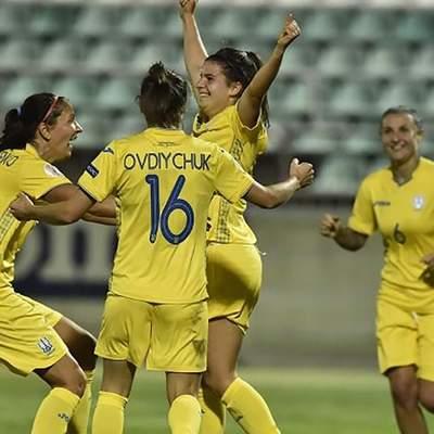 Украинки разгромили сборную Греции в отборе на Евро-2022: дубль оформила американская легионерка