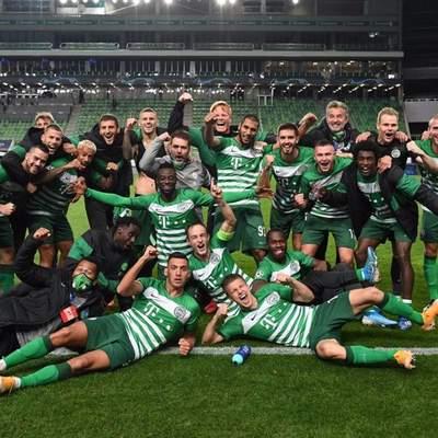 """""""Ференцварош"""" на чолі з Ребровим вперше за 25 років вийшов у групу Ліги чемпіонів: відео"""