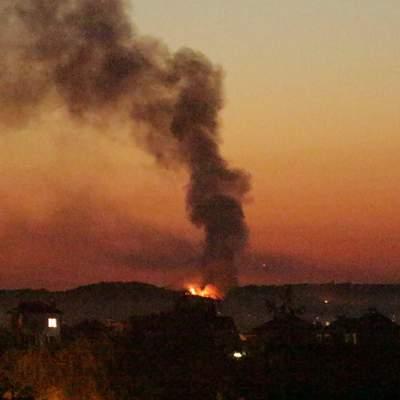 Во Львове произошел масштабный пожар: 2 человека отравились дымом – видео