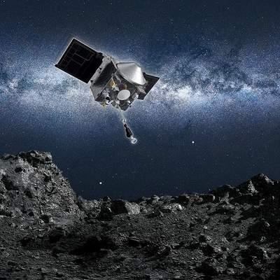 NASA отобрало грунт с астероида Бенну в 33 миллионах километров от Земли