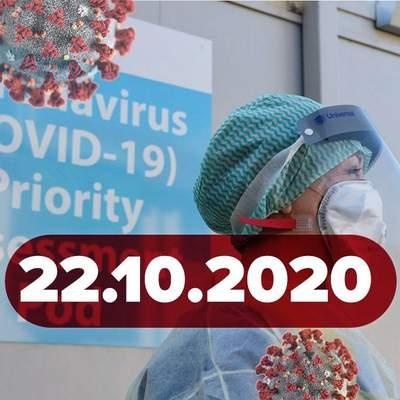 Новини про коронавірус 22 жовтня: рекорд інфікованих, як часто ПЛР-тести помиляються