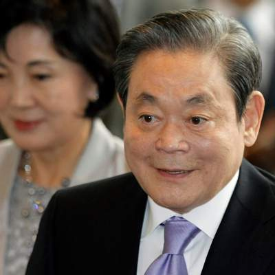 Умер руководитель концерна Samsung Ли Гон Хи
