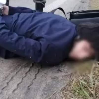 На Киевщине во время спецоперации полицейские эффектно задержали подозреваемых в убийстве: видео