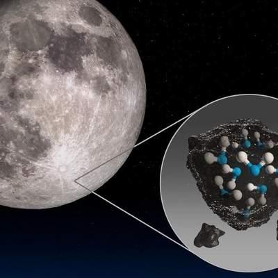 NASA подтвердило наличие воды на освещенной Солнцем поверхности Луны