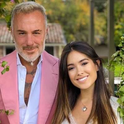 """""""Танцюючий мільйонер"""" Джанлука Ваккі та Шерон Фонсека вперше стали батьками: фото з донькою"""