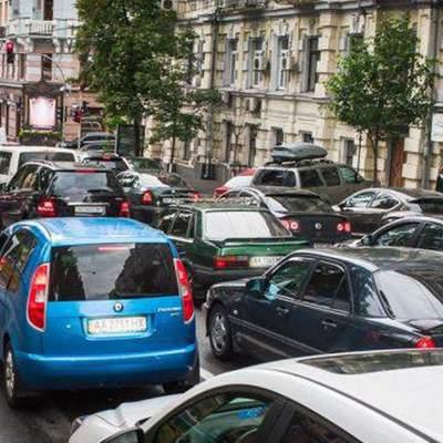 Затори у Києві зранку 28 жовтня