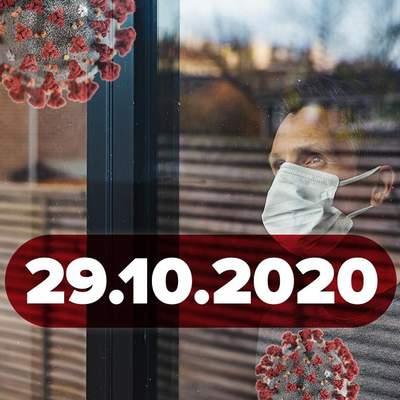 Новини про коронавірус 29 жовтня: рекорд інфікованих у світі, країни Європи посилюють карантин