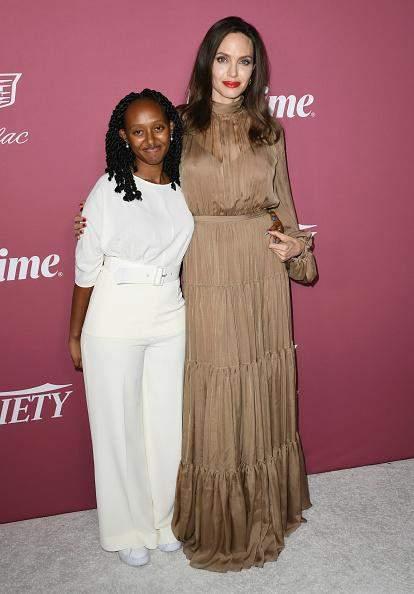 Бездоганний образ Анджеліни Джолі та її доньки Захари