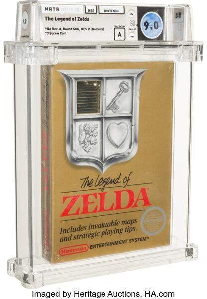 Невідкриту гру від Nintendo Legend of Zelda 1987 року продали майже за мільйон доларів