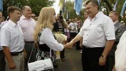 Президент Віктор Янукович відвідав Сорочинський ярмарок