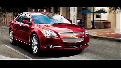 General Motors в Шанхае представила глобальный седан Chevrolet Malibu