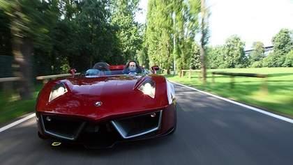 """В Италии показали новый суперкар """"Codatronca Monza"""""""