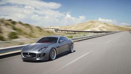 Jaguar презентує гібридне спорткупе