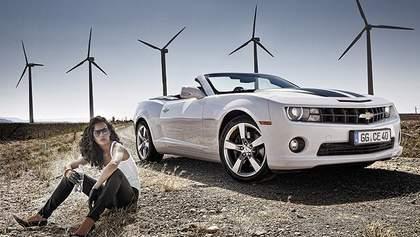 Chevrolet показал первые официальные фотографии купе и кабриолета Camaro