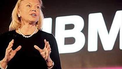 Впервые в истории гендиректором IBM стала женщина