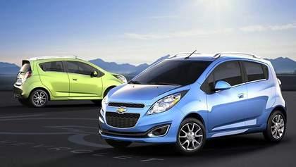 Chevrolet немного переделал Spark для американского рынка