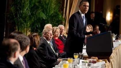 На завтрак к Обаме поехало полтора десятка украинских депутатов