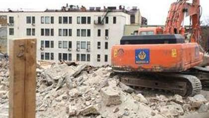 В Киевской администрации в сносе домов на Андреевском спуске обвинили Минкульт