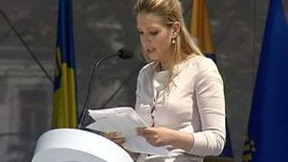 Євгенія Тимошенко закликала українців боротися з кримінальною диктатурою