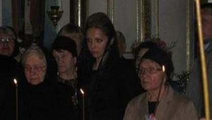 На похорони свекра Тимошенко не приїхав його син