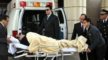 Хосні Мубарак пережив дві зупинки серця