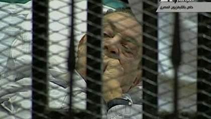 ЗМІ: У екс-президента Єгипту Х.Мубарака не виявлено ознак інсульту