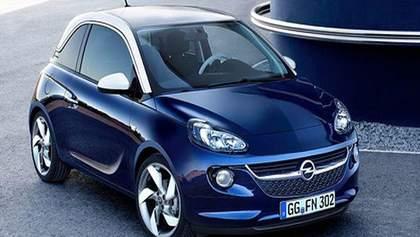 """Компания Opel предcтавила новую малолитражку """"Opel Adam"""""""