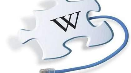 """Українська Вікіпедія теж протестує проти """"наклепу"""" (Фото)"""