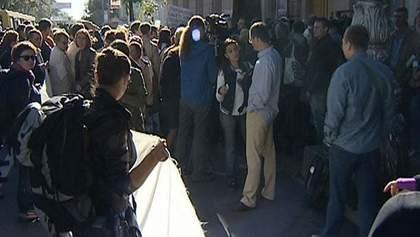 Журналисты завершили митинг под Верховной Радой
