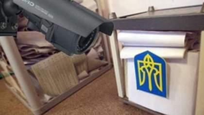 З виборчих дільниць зникають камери спостереження