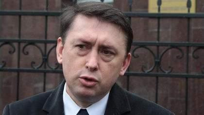 На допросе Мельниченко отказался комментировать достоверность своих записей