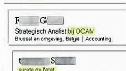 Бельгійські таємні агенти виказали себе у соціальних мережах