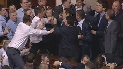 Итоги недели: Новый парламент начался с появления перебежчиков и драк