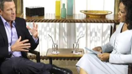 Лэнс Армстронг в телеэфире признается в употреблении допинга