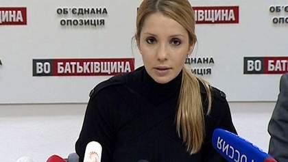 Тимошенко не визнає звинувачень у вбивстві Щербаня