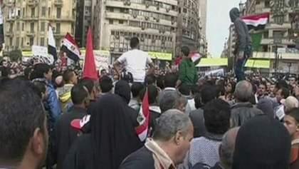 Річницю повалення режиму Мубарака відзначали протестами