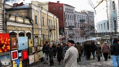 Реставрируя Андреевский спуск, украли более миллиона гривен бюджетных средств